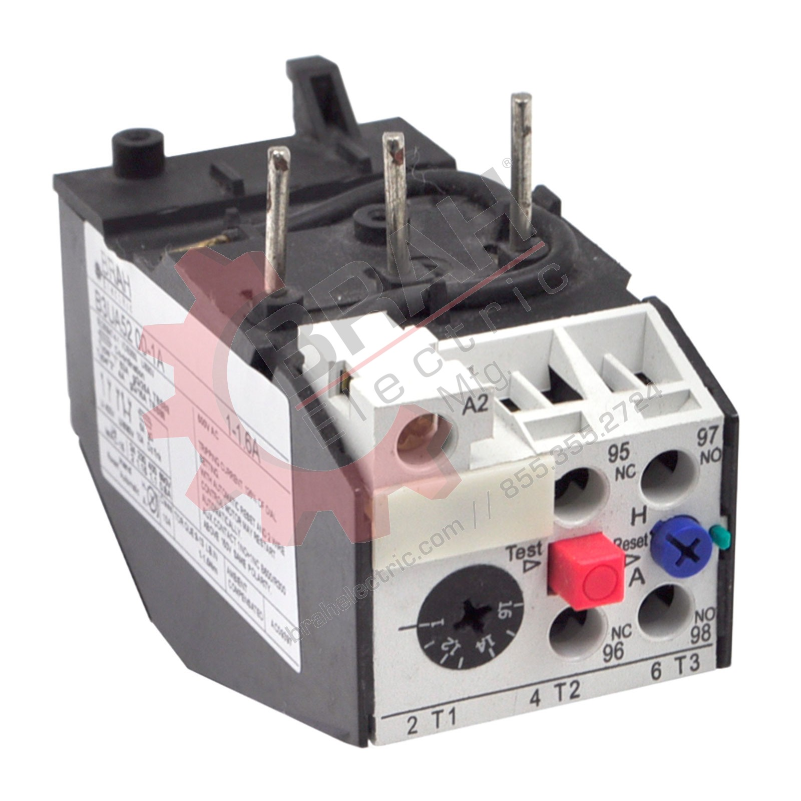 Direct Replacement For Siemens 3UA52-00-2C Overload Relay Direct Replacement With 2 Year Warranty