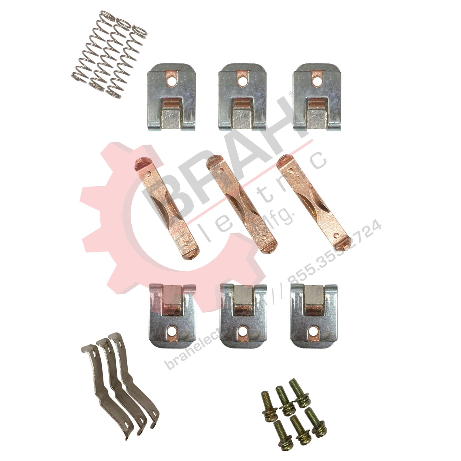 Contactor Accessories ZL145 Main contact set replacement Used for ...